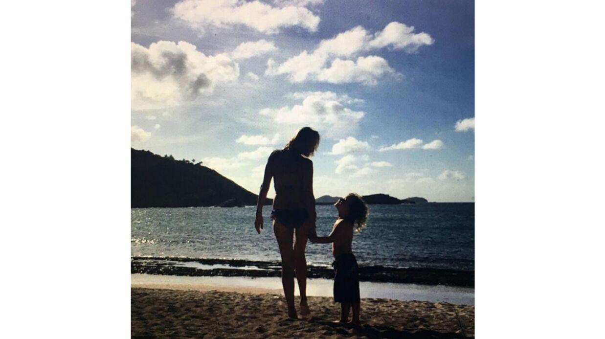 PHOTO La touchante déclaration d'Estelle Lefébure à son fils pour son anniversaire