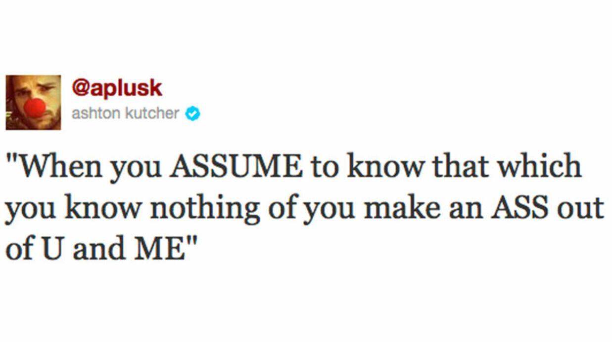 Ashton Kutcher dément (presque) sa séparation avec Demi Moore