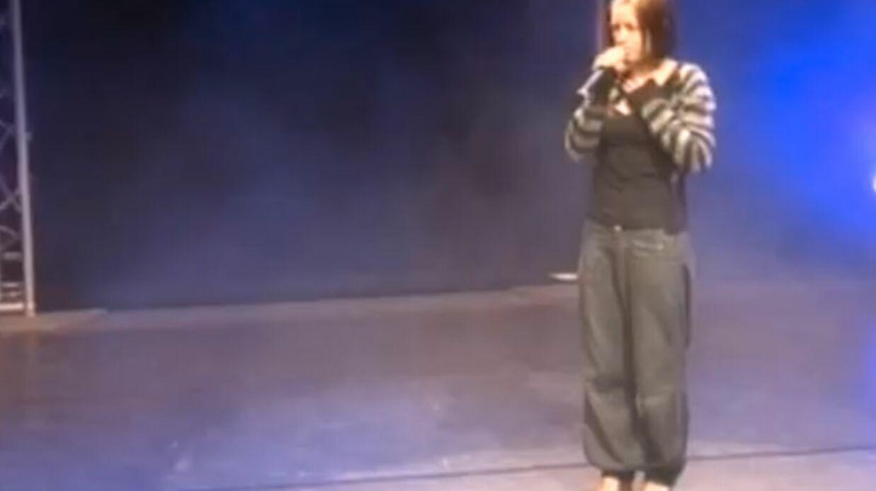 Clash entre Natasha St-Pier et un organisateur de concert