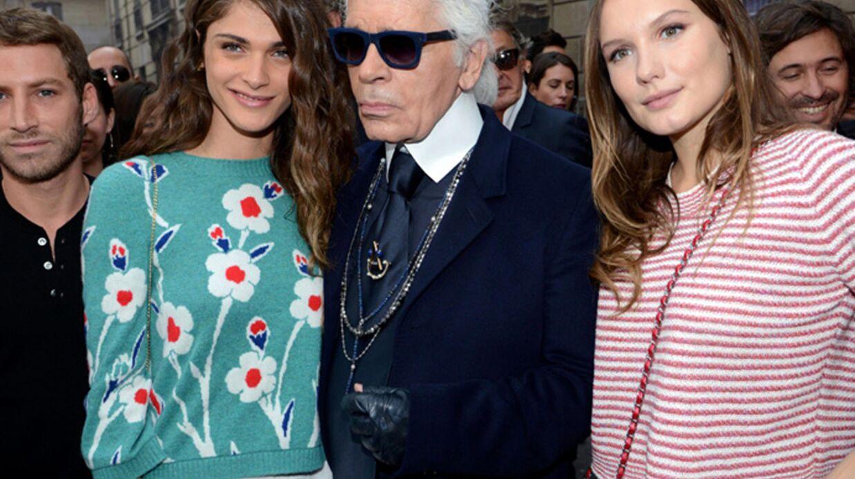 PHOTOS Poppy Delevingne et Anna Mouglalis très sages, Alice Dellal rock pour Chanel