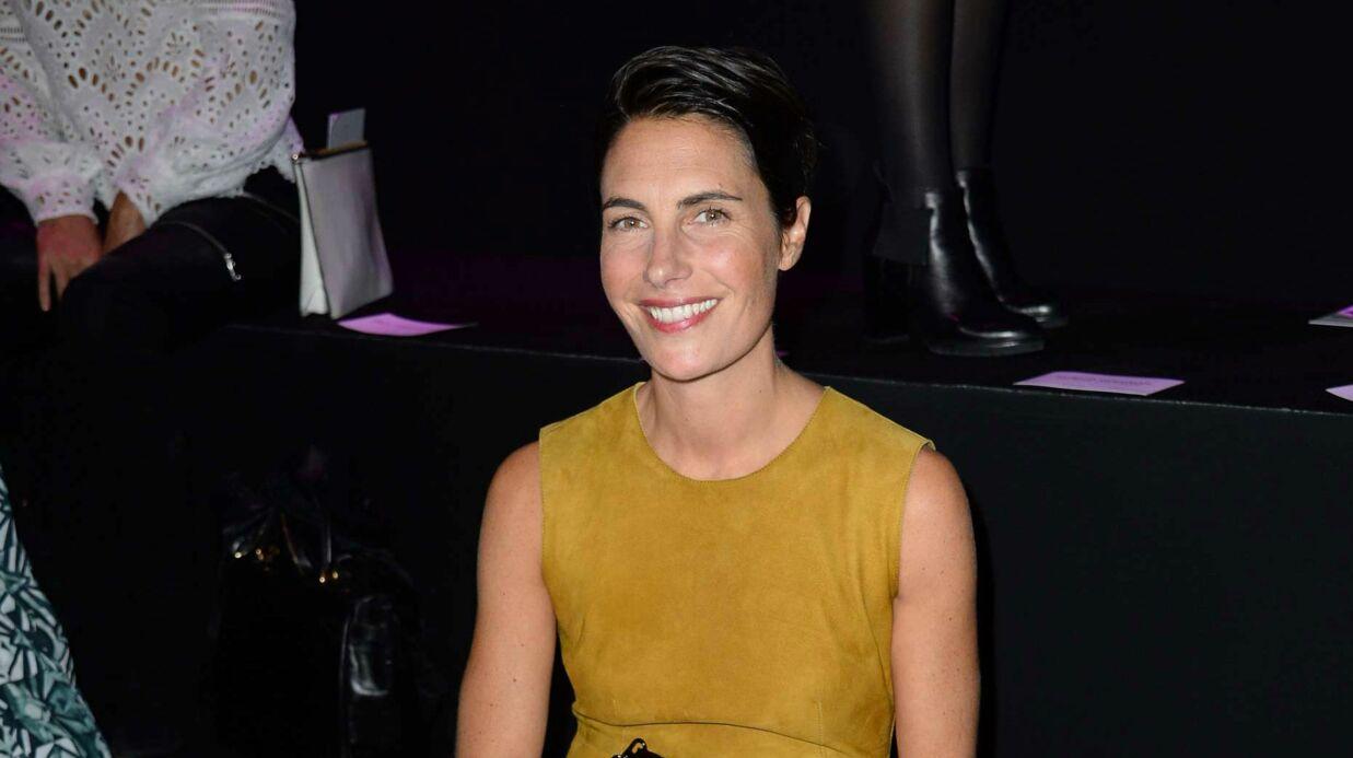 Alessandra Sublet canon sur la photo de son permis de conduire