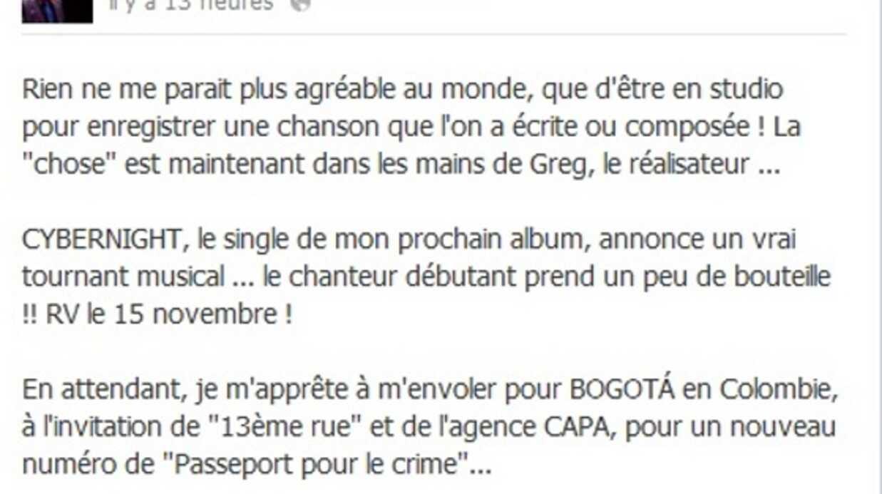 Christophe Hondelatte annonce la sortie de Cybernight, son prochain single