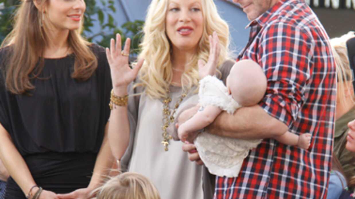 Tori Spelling a accouché de son quatrième enfant