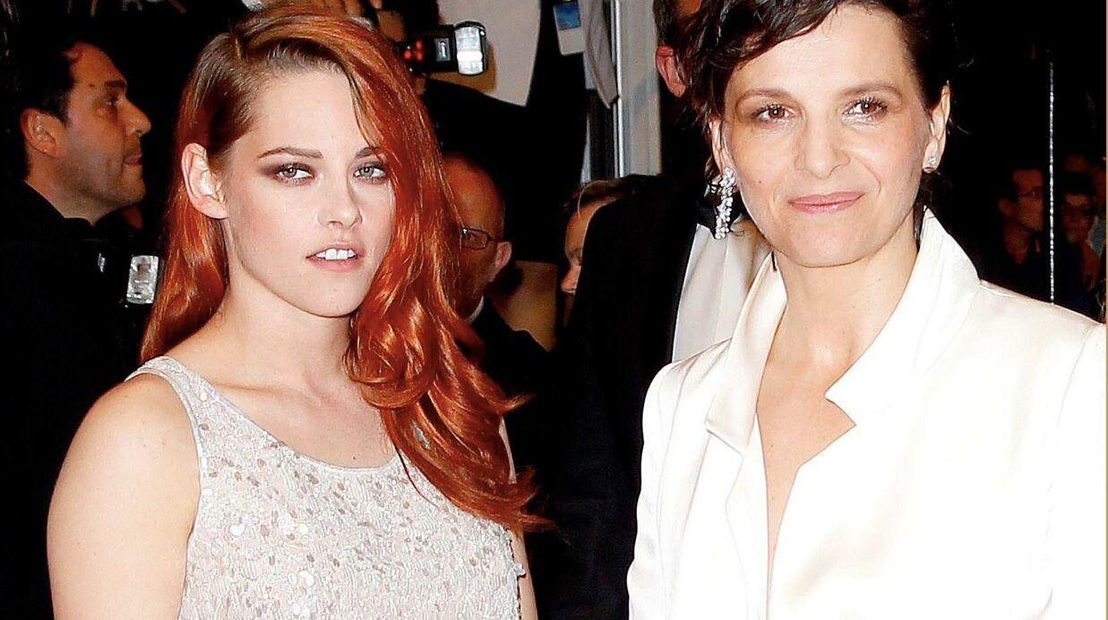 Kristen Stewart: fan absolue de Juliette Binoche!