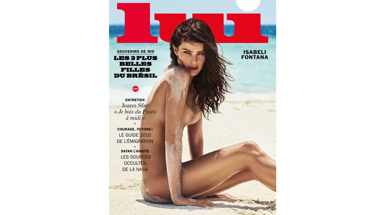 PHOTOS Isabeli Fontana, Lais Ribeiro et Fernanda Liz: les 3 tops brésiliens topless pour Lui