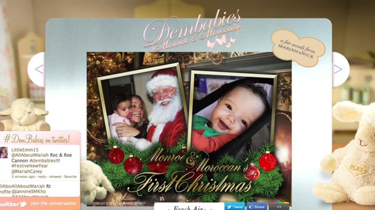 Photo Mariah Carey: le fabuleux Noël de ses jumeaux