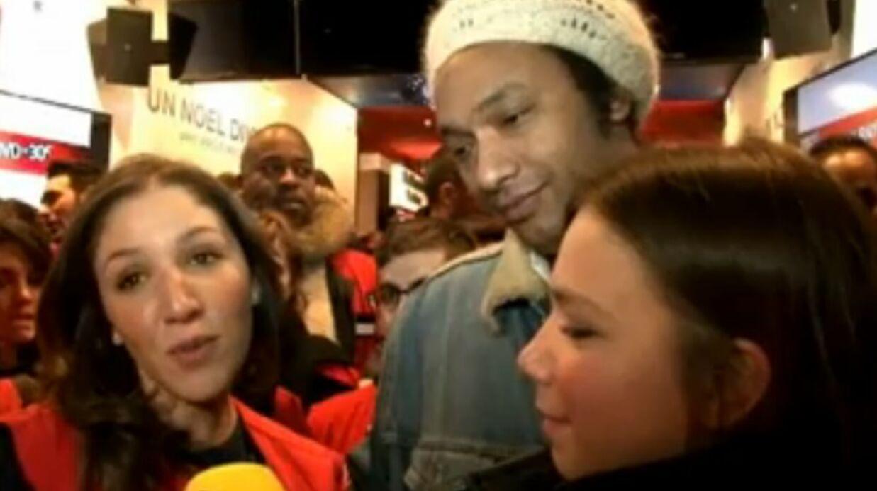 Doc Gynéco manifeste aux côtés des salariés de Virgin
