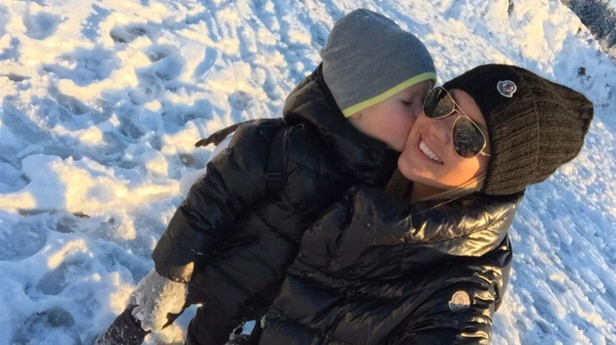PHOTOS Amélie Neten au ski avec son fils: Hugo a bien grandi!
