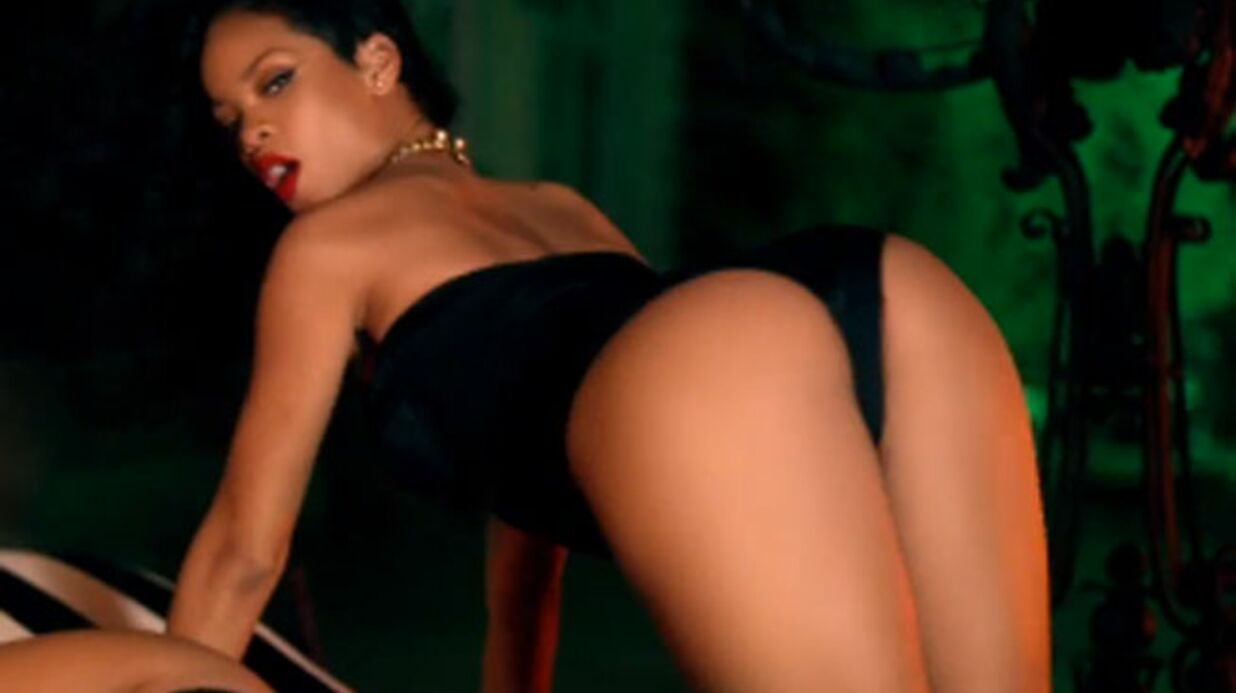 VIDEO Shakira et Rihanna incen­diaires et sexy dans Can't remem­ber to forget you