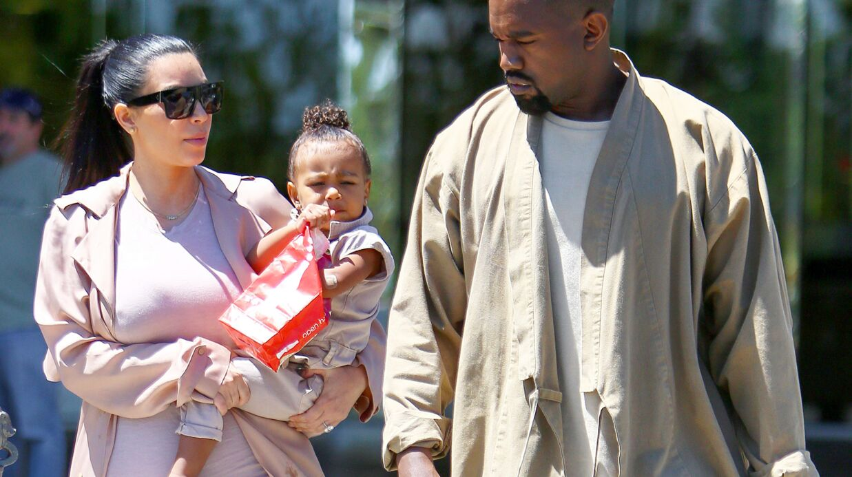 PHOTO Kim Kardashian: sa petite North est le portrait craché de Kanye West