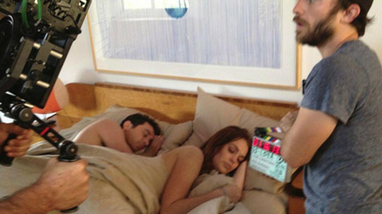 Lindsay Lohan déshabille toute l'équipe de tournage de The Canyons