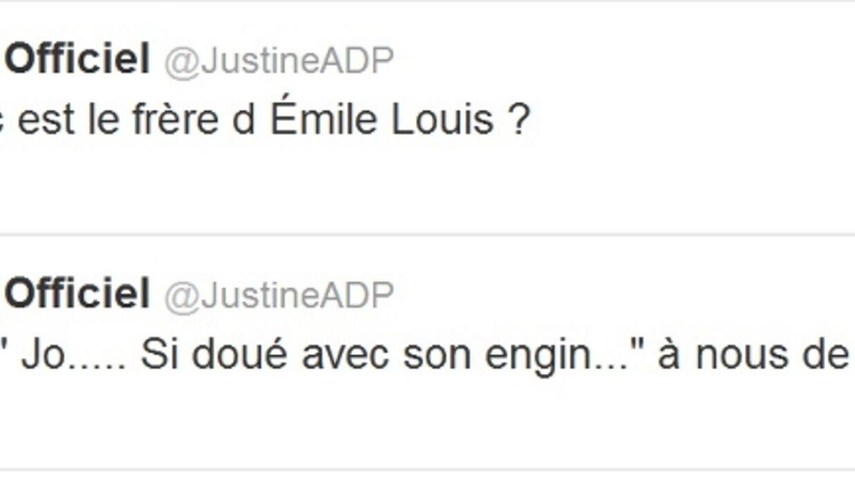 L'amour est dans le pré: Justine se moque des autres candidats sur Twitter