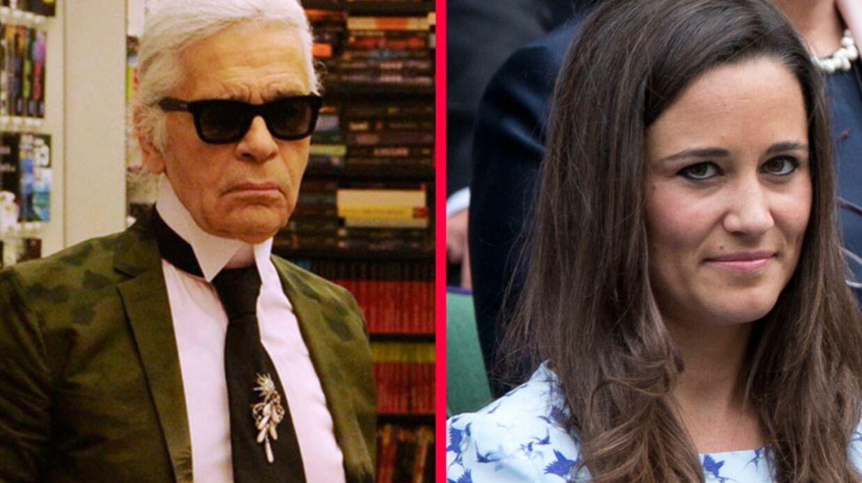 Karl Lagerfeld encense Kate et enfonce Pippa Middleton