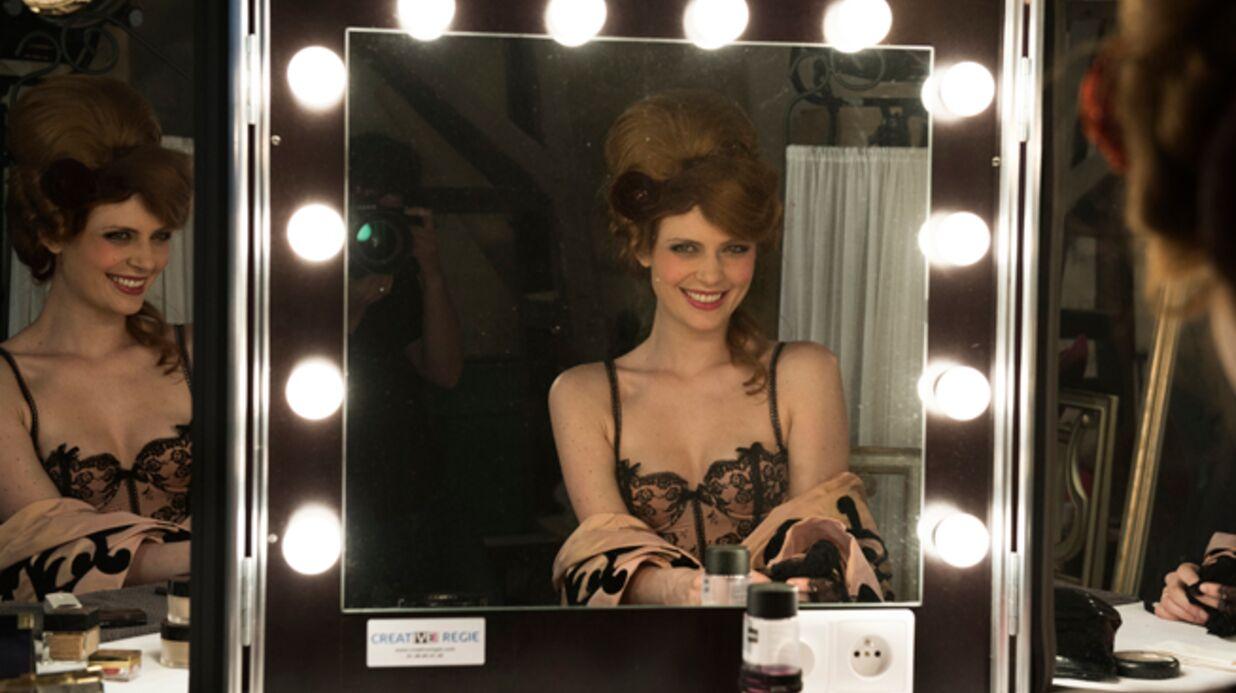 PHOTOS Elodie Frégé en lingerie fine pour Chantal Thomass
