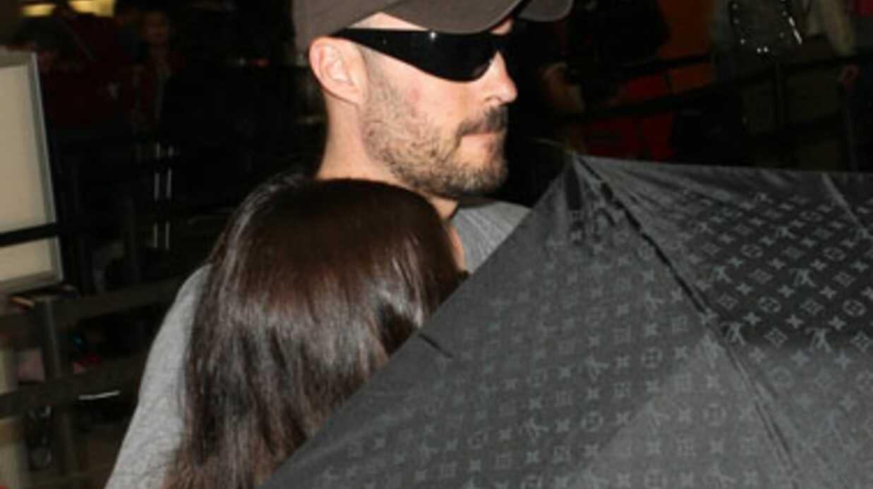 PHOTOS Megan Fox bizarrement cachée par Brian Austin Green