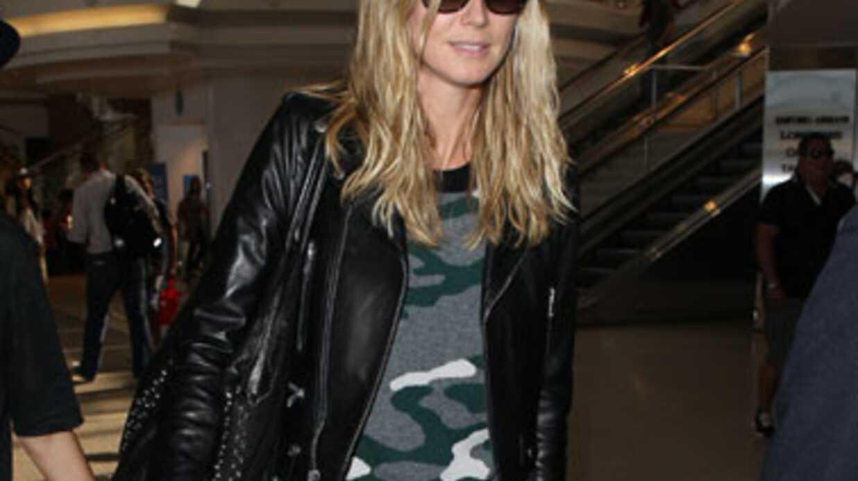 Heidi Klum hospitalisée lors d'un voyage à Singapour