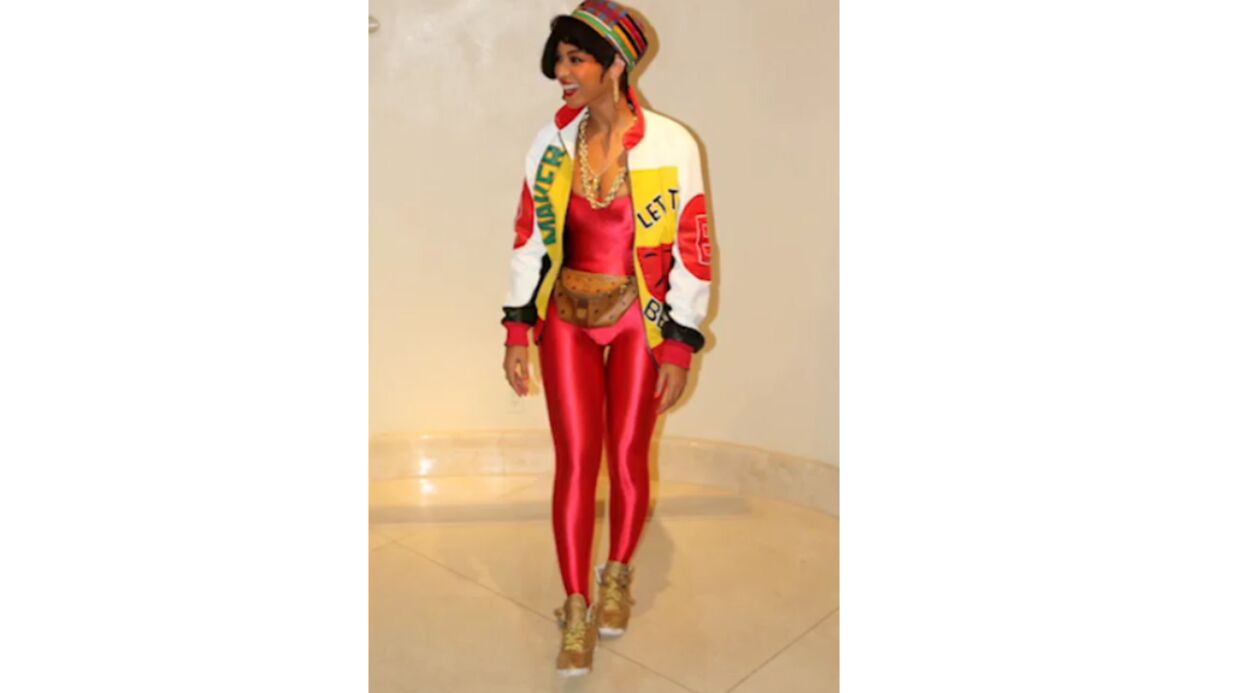 VIDEO Beyoncé, sa fille Blue Ivy et sa mère déguisées en groupe de rap 80's pour Halloween