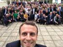 Insolite Le selfie d'Emmanuel Macron détourné par les internautes (Photos)