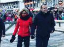 Vidéo Le couple Macron en vacances à La Mongie, dans les Pyrénées