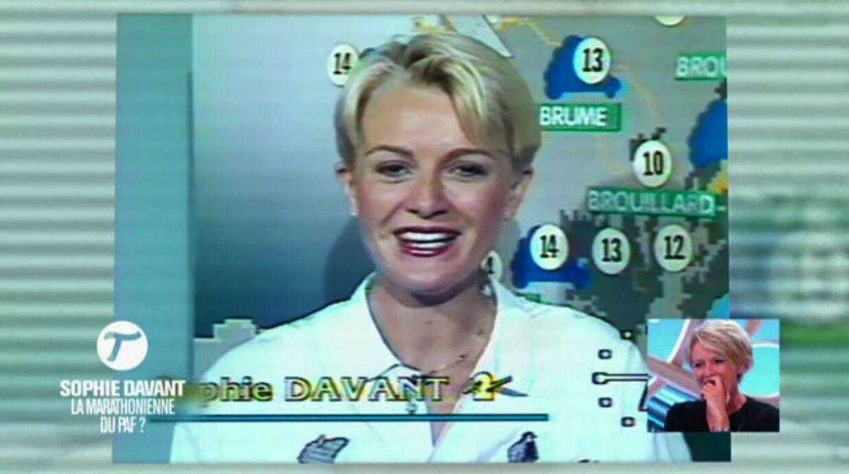 VIDEO Naïve à ses débuts, Sophie Davant piégée par une blague salace à l'antenne