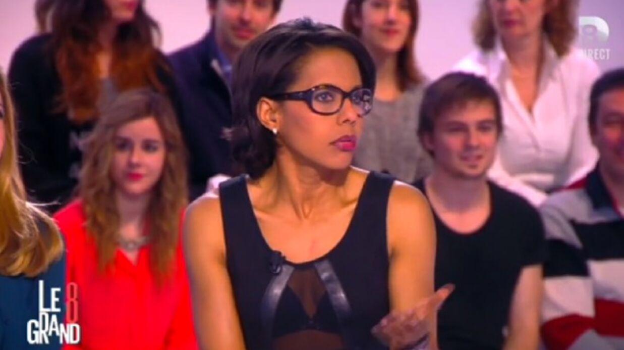 VIDEO Audrey Pulvar ose une tenue très hot dans le Grand 8