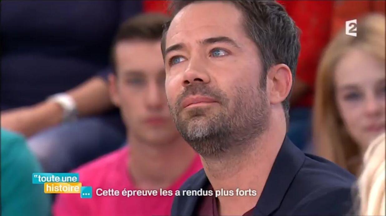 VIDEO Emmanuel Moire fond en larmes en évoquant la mort de son frère jumeau