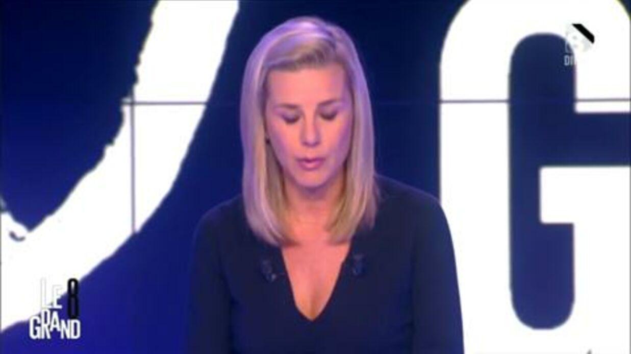 VIDEO Laurence Ferrari en larmes lors de son hommage à des collaborateurs tués dans les attentats