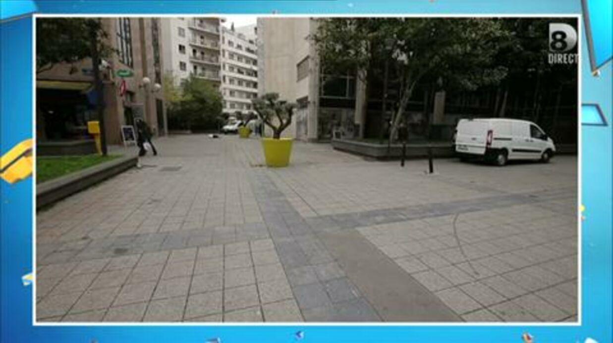 VIDEO La violente chute qui a envoyé Bertrand Chameroy à l'hôpital