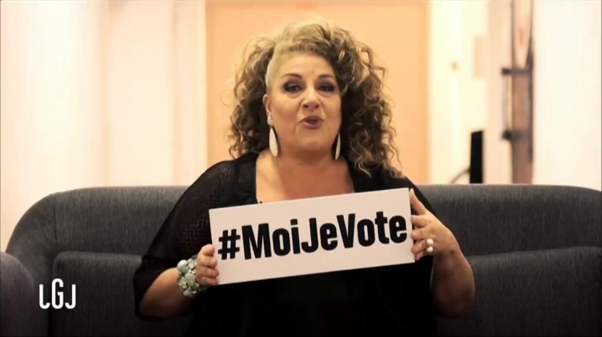 VIDEO Marianne James, Nagui, JoeyS­tarr… : les célé­bri­tés se mobi­lisent et appellent à voter