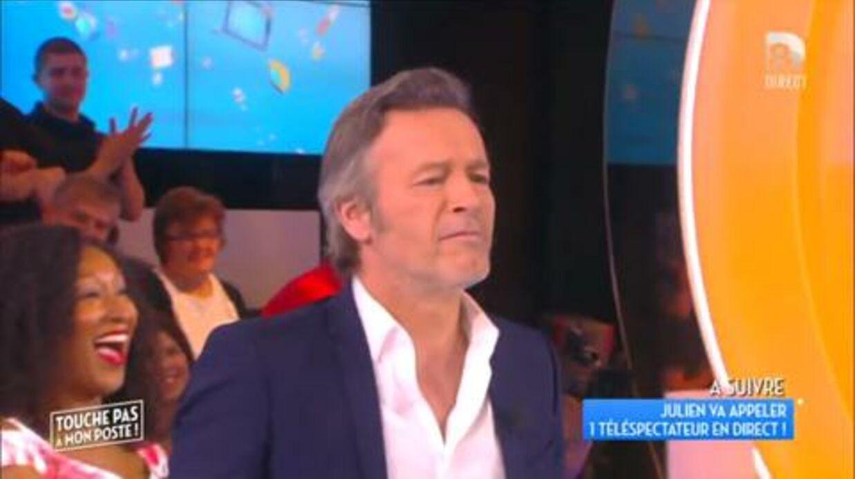 VIDEO Julien Courbet embrasse Jean-Michel Maire (qui pensait embrasser Anggun)