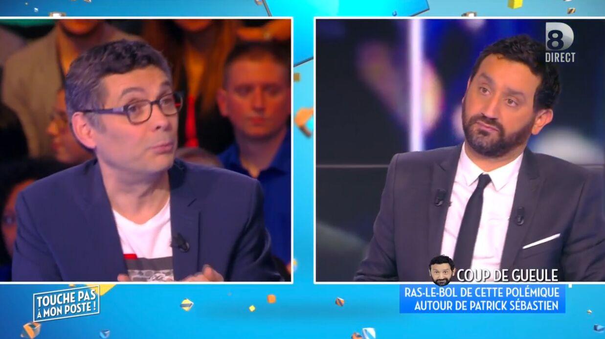 Thierry Moreau recadré par Cyril Hanouna après ses fausses révélations sur Patrick Sébastien
