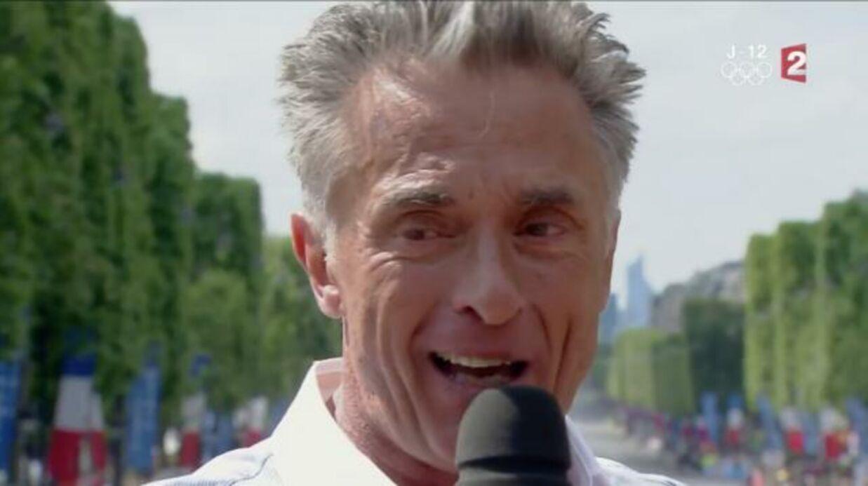 VIDEO Gérard Holtz en larmes pour ses adieux au Tour de France