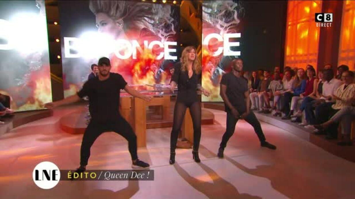 VIDEO Daphné Bürki danse comme Beyoncé dans La Nouvelle Edition