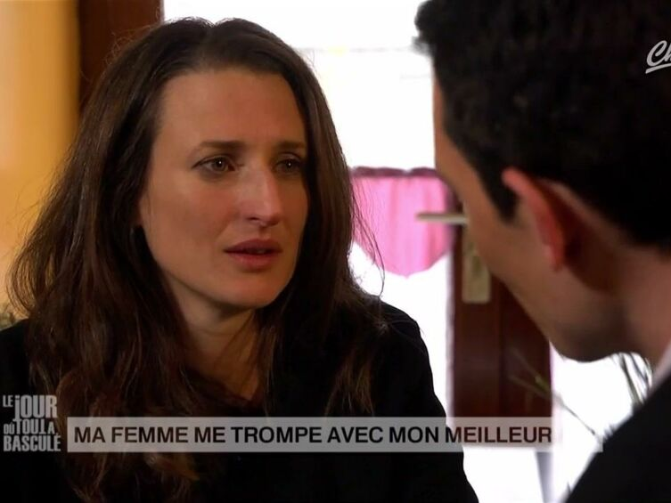 video avant d tre c l bre camille cottin a jou dans un pisode de tout a bascul voici. Black Bedroom Furniture Sets. Home Design Ideas