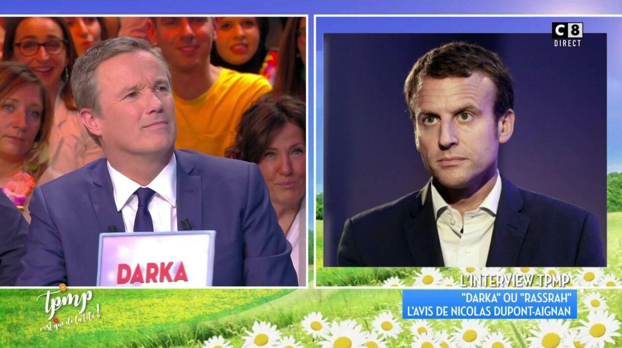 VIDEO Nicolas-Dupont Aignan se lâche dans TPMP et traite Emmanuel Macron de «faux-cul»