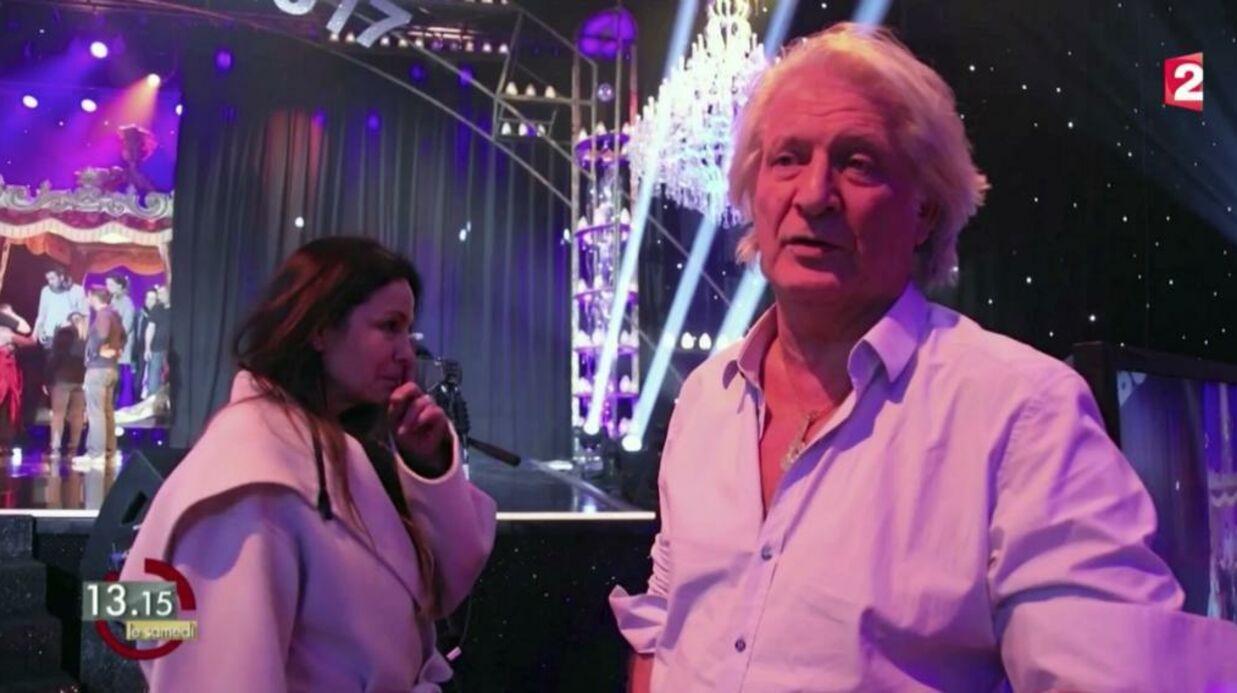 VIDEO Patrick Sébastien pique une grosse colère dans les coulisses de son émission