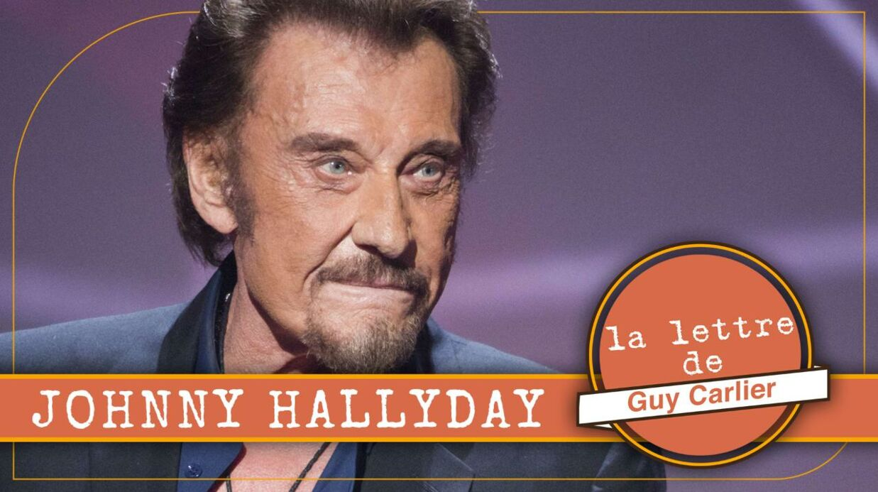 VIDEO Cancer de Johnny Hally­day : l'émou­vant message de soutien de Guy Carlier