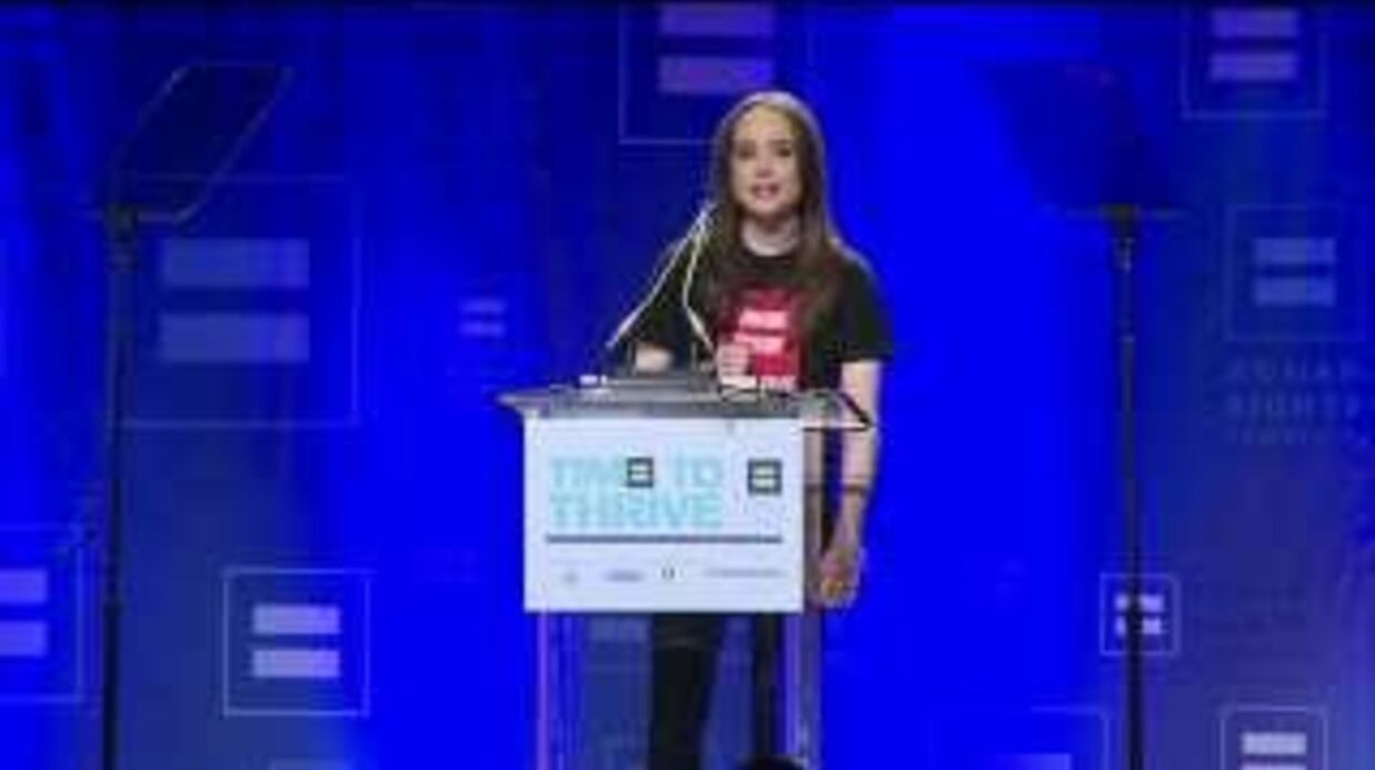 Ellen Page (Juno, Incep­tion) a fait son coming-out