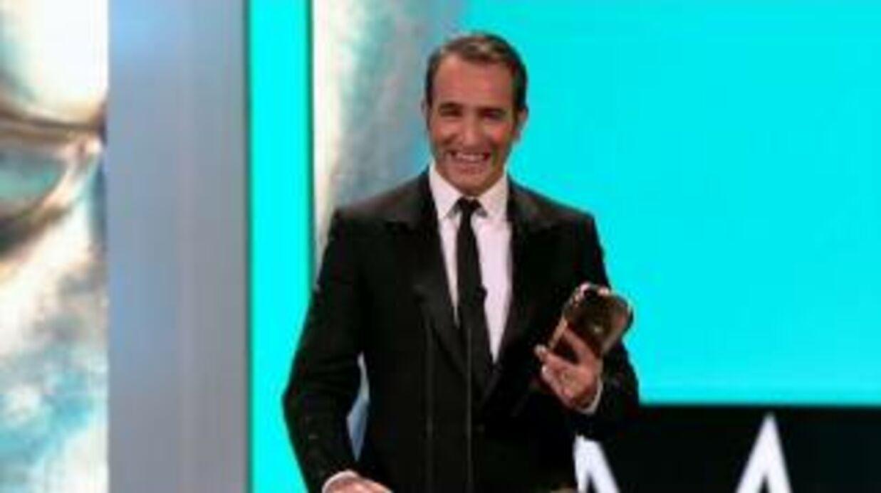 Jean Dujardin et The Artist stars des Baftas