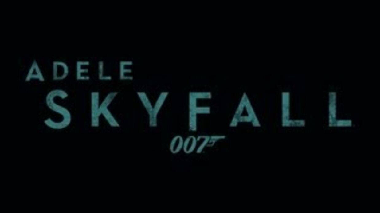VIDEO Adele dévoile Skyfall la chan­son offi­cielle du dernier James Bond
