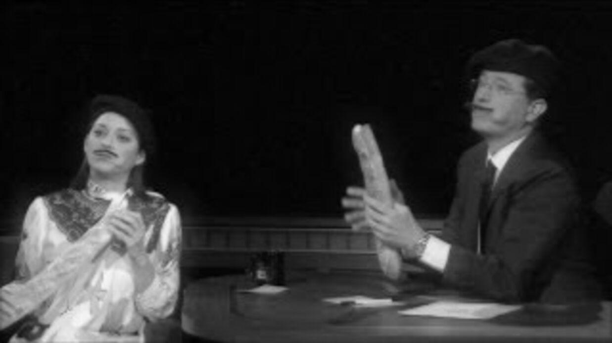 VIDEO Dans un show américain, Marion Cotillard prouve que tout est plus élégant en français