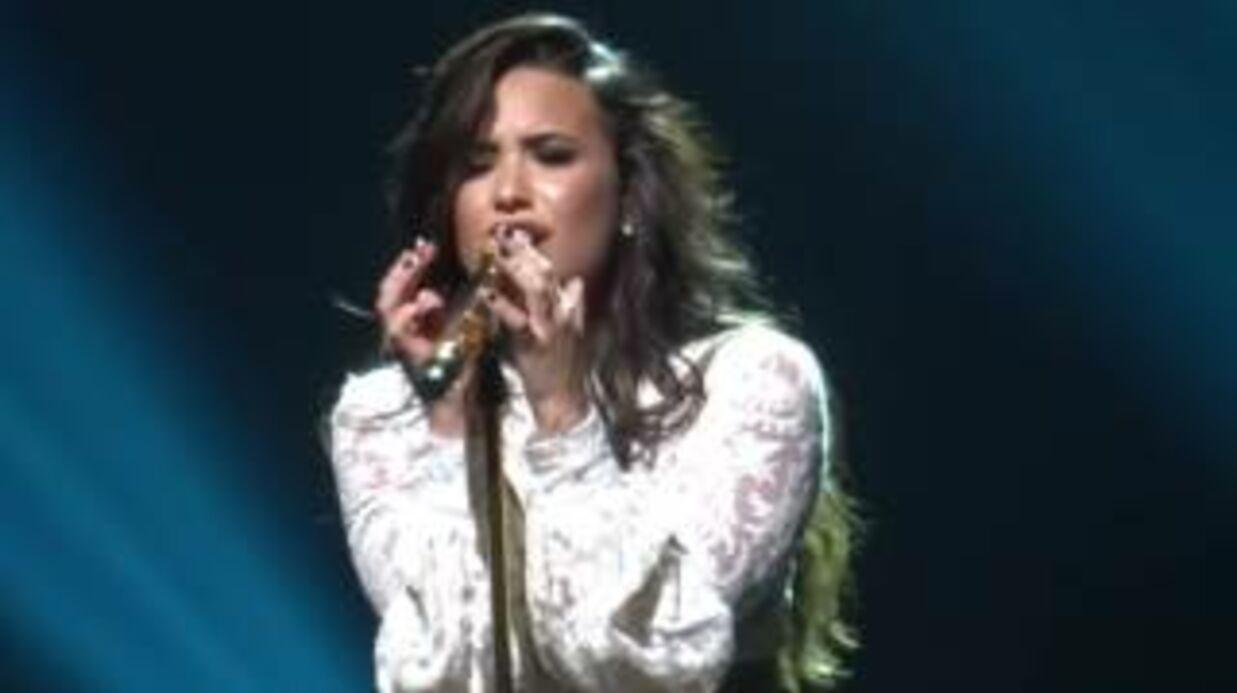 VIDEO Demi Lovato reprend une chanson d'Adele, ça donne des frissons