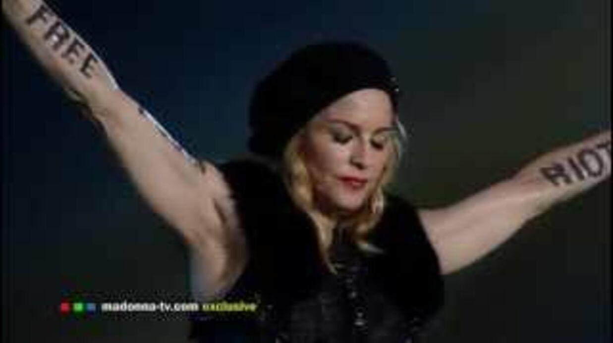VIDEO Madonna excuse Elton John après ses attaques