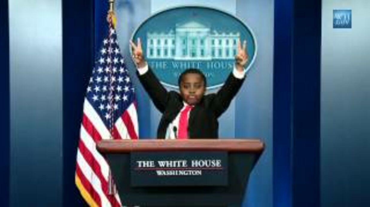 DIAPO La bonne blague de Barack Obama pour le 1er avril