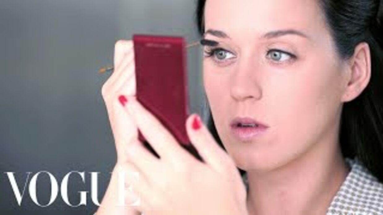 VIDEO Découvrez comment Katy Perry se transforme grâce au maquillage