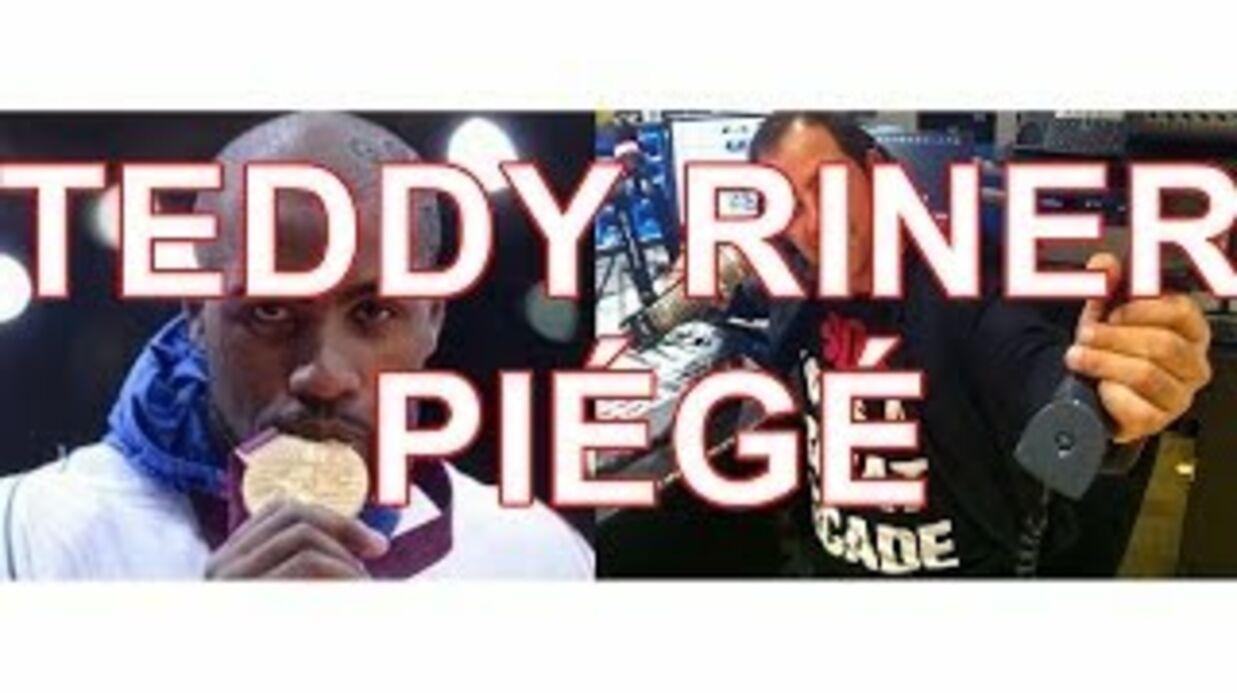 VIDEO Teddy Riner pris au piège dans un canular téléphonique