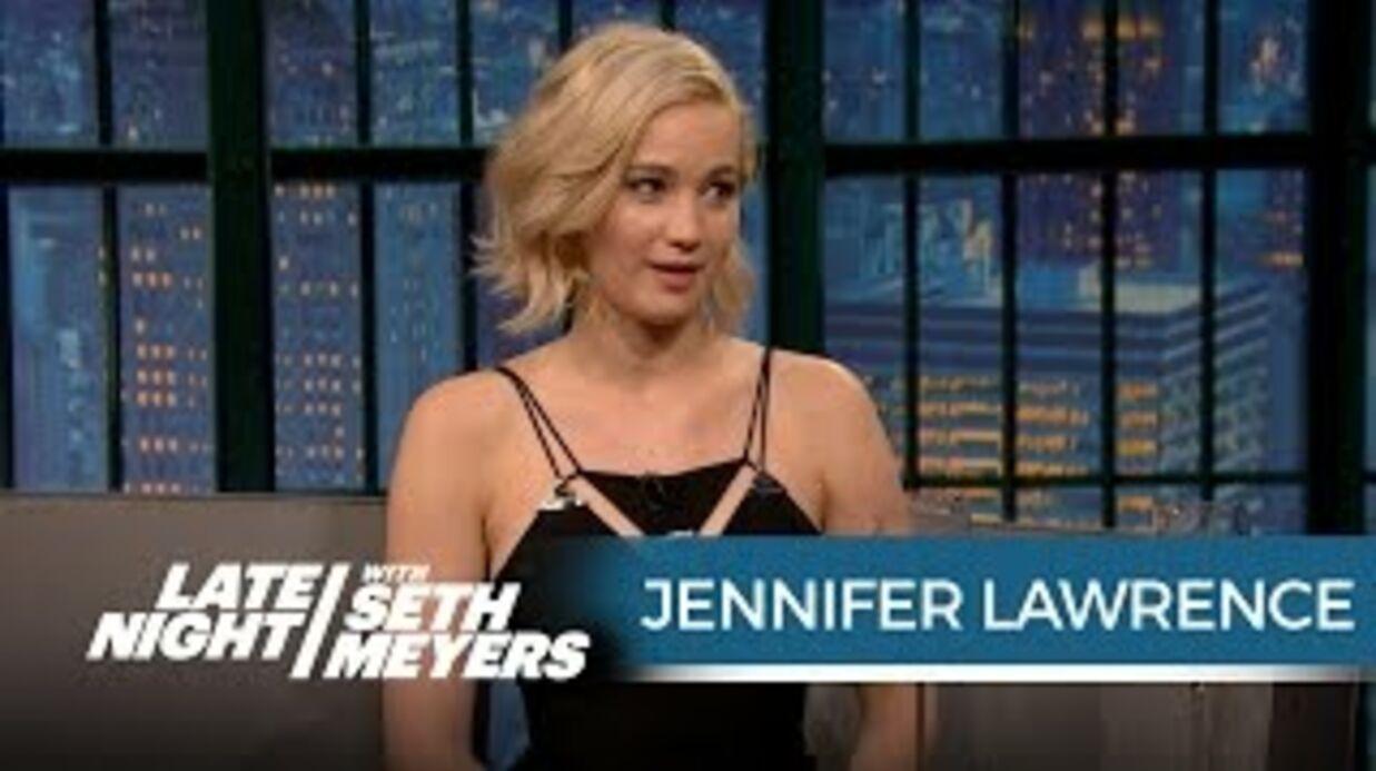 VIDEO Jennifer Lawrence avoue à un animateur télé qu'elle avait craqué sur lui
