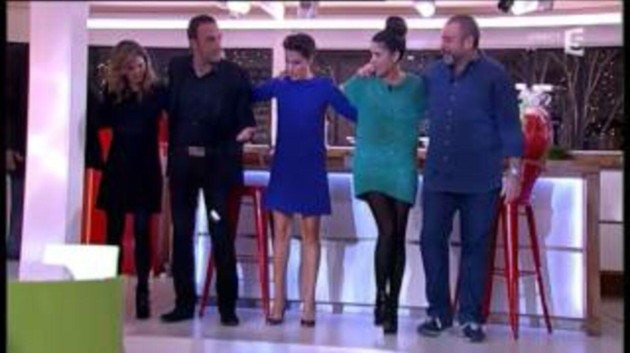 VIDEO Nikos Aliagas apprend à Alessandra Sublet à danser le sirtaki