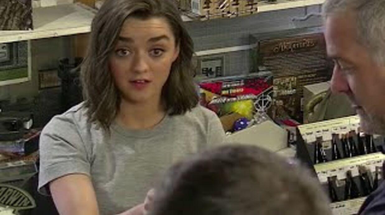 VIDEO Maisie Williams (Game of Thrones) piège des fans de la série en se faisant passer pour son sosie
