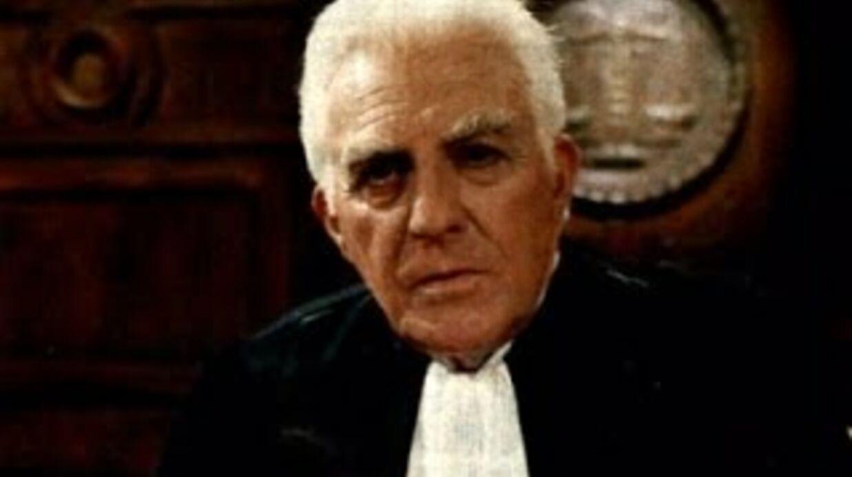 Mort d'Yves Vincent (Les Gendarmes de Saint-Tropez, Tribunal) à 94 ans